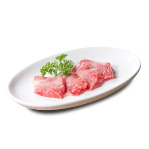 燒肉用牛肉無調味牛腩排的去背退地食物素材相片