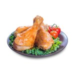 雞腿雞槌的去背退地食物素材相片