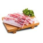 生五花肉的去背退地食物素材相片