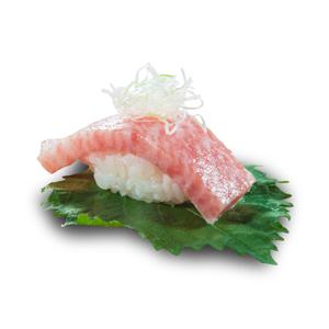 香蔥吞拿魚大拖羅壽司的去背退地食物素材相片