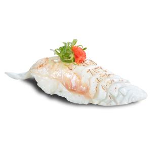 火炙鯛魚壽司的去背退地食物素材相片