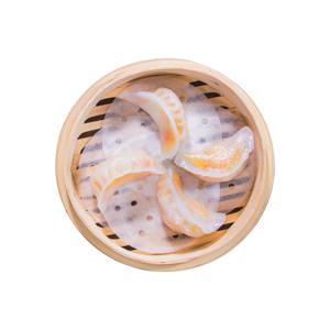 紅蘿蔔水晶餃的去背退地食物素材相片