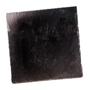 方形黑色石板的去背退地食物素材相片
