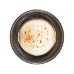 蛋黃醬辣椒粉的去背退地食物素材相片