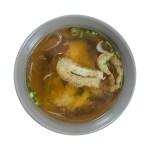 日本油豆腐味噌湯的去背退地食物素材相片
