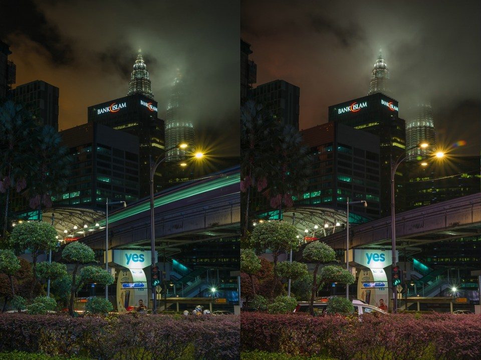 Haida Clear-Night-Filter Kuala Lumpur
