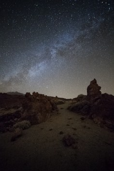 Teide Night Teneriffa Milkyway