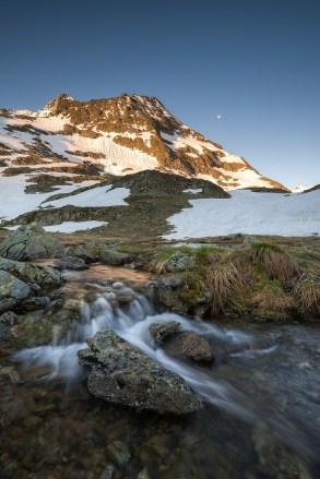 Sustenpass Schweizer Alpen Sunrise