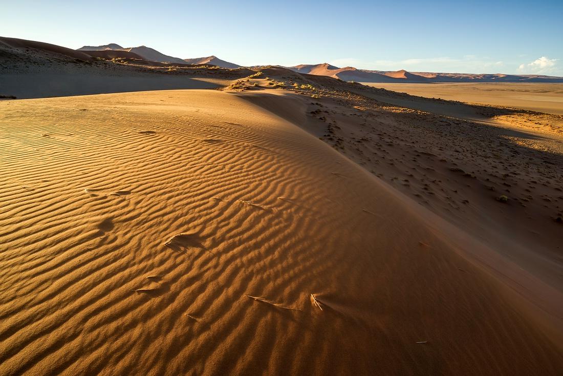 Düne Namib Wüste © Raik Krotofil