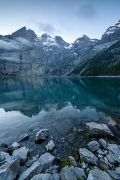Oeschinensee Kandersteg Schweizer Alpen
