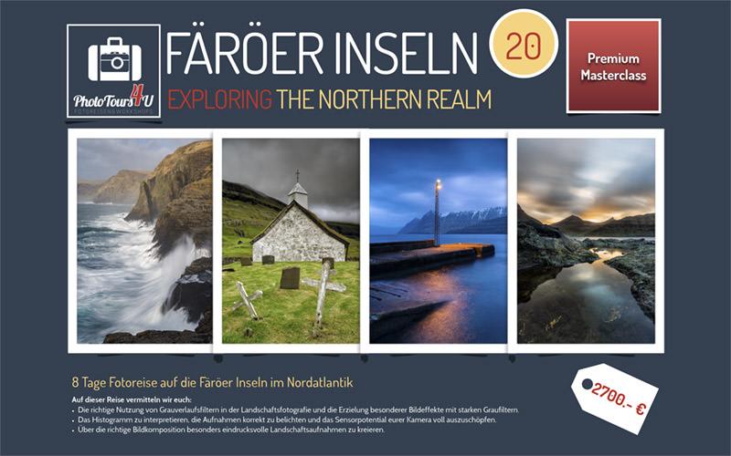 Teaser zur Reise auf die Färöer Reise mit phototours4u
