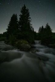 Fotografieren in den Bergen Rosenlaui Schwarzwaldalp