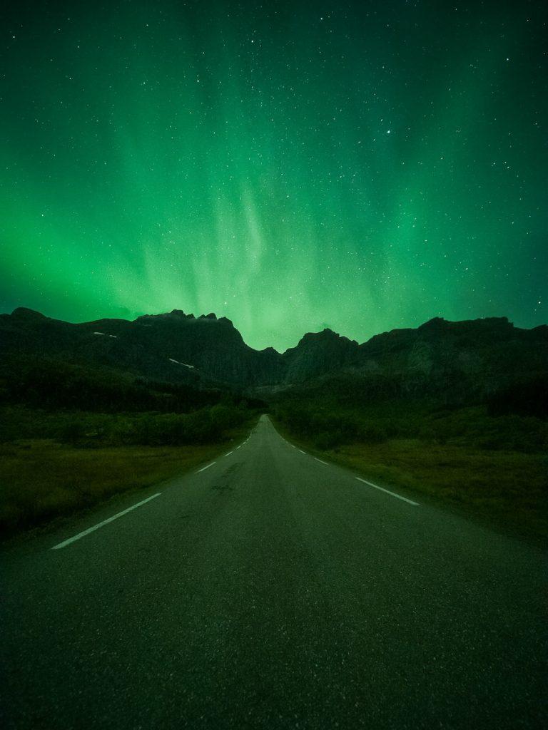 Nordlichter Polarlichter Lofoten