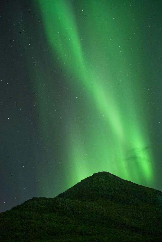 Polarlichter, Nordlichter, Aurora Fotoreise Herbst Lofoten