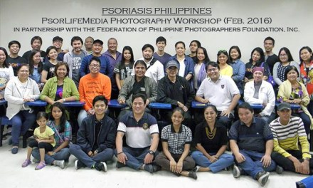 FPPF Conducts Photography Workshop for Psoriasis Phillipines