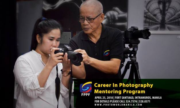 CPMP 4: Career in Photography Mentoring Program on April 25, 2018
