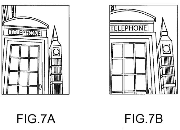 Apple iPhone patent: fixes perspective