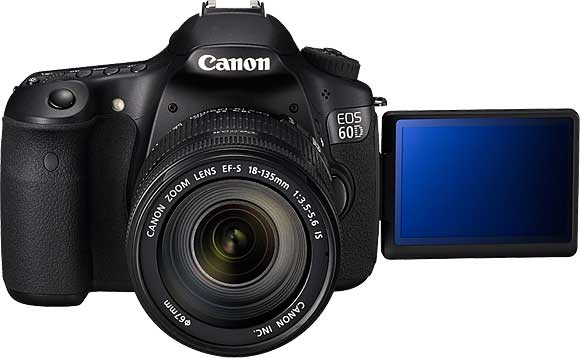 Canon EOS 60D with Vari-Angle LCD