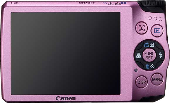 Canon PowerShot A3300 IS Back View