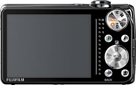 Fujifilm FinePix F80EXR Back View