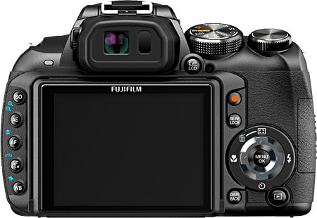 Fujifilm HS10 Back View