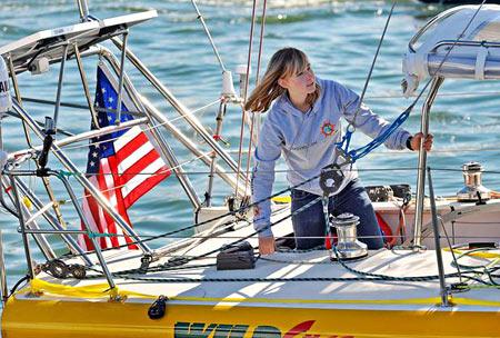Abby Sunderland, 16, Sails Solo Around The Globe