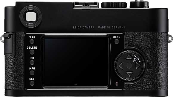 Leica M Monochrom Back View