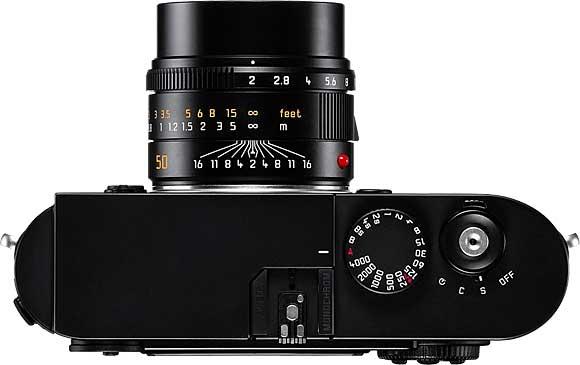 Leica M Monochrom Top View