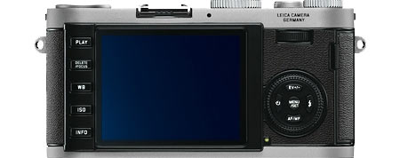 Leica X1 Back View