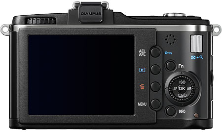 Olympus E-P2 Back View