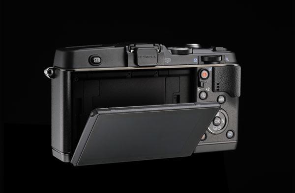 Olympus E-P5 Tilt LCD