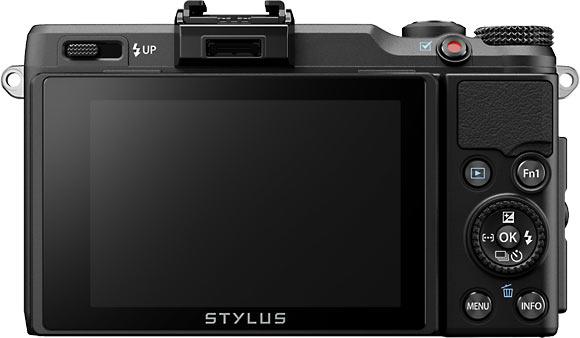 Olympus Stylus XZ-2 iHS Back View