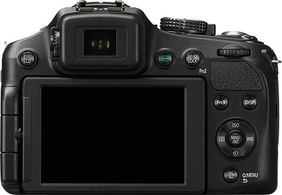 Panasonic Lumix DMC-FZ200 Back View