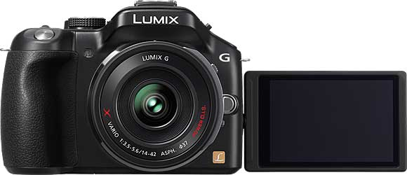 Panasonic Lumix DMC-G5 Rotating LCD