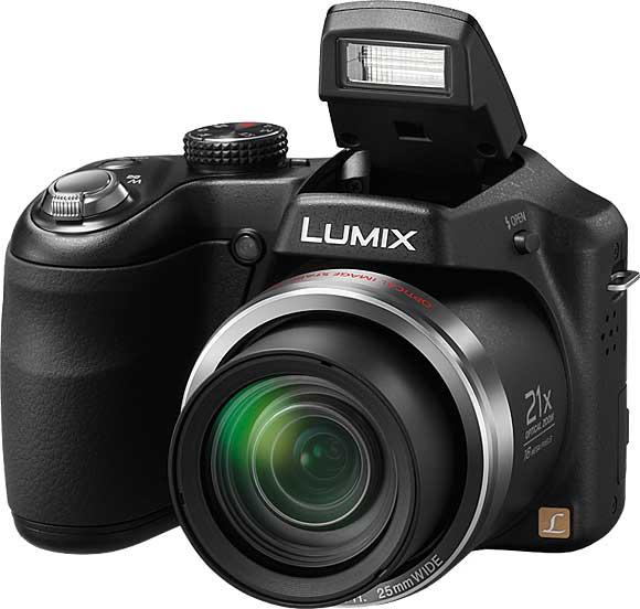 Panasonic Lumix DMC-LZ20 with Pop-Up Flash