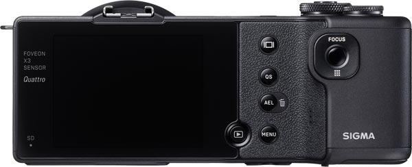 Sigma dp1 Quattro (back view)
