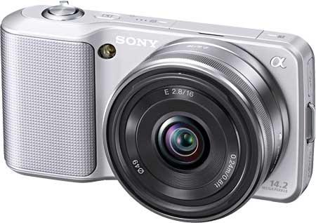 Sony NEX-3 with 16mm pancake lens