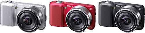 Sony NEX-3 Colors