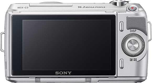 Sony NEX-C3 Back View