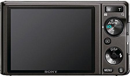 Sony Cyber-shot DSC-W370 Back View