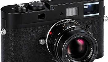 "Leica M Monochrom ""Stealth Edition"" is a Compact Digital Rangefinder"