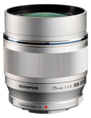 M.ZUIKO DIGITAL ED 75mm f1.8 High-Grade Portrait Lens
