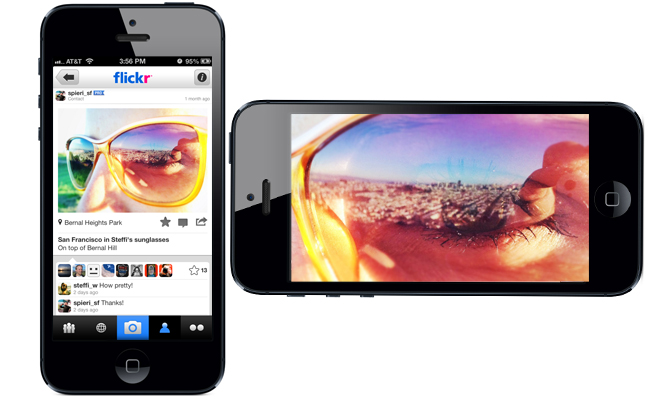 New Flickr App for iPhone and iPod Touch