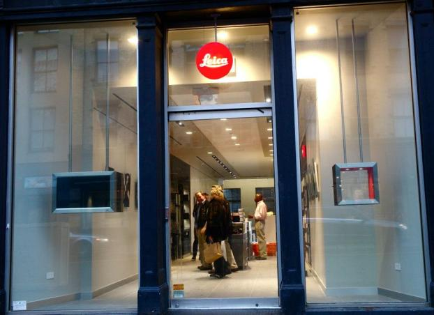 Above: On December 10, 2012, Leica Camera opened a new store at 460 West Broadway, New York City, the heart of SoHo.
