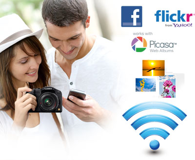 Wi-Fi Features On the Go (Picasa is a registered trademark or trademark of Google Inc.)