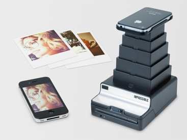 Impossible Instant Lab: Turning digital iPhone images into real instant photos. ©Impossible