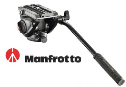 Manfrotto 500 Fluid Video Head (Flat Base)