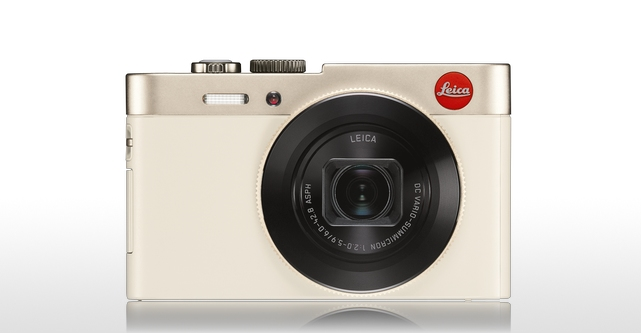 Leica C in champagne finish.