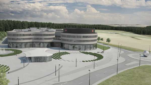 Rendering of Leica Camera AG's new location: Leitz Park in Wetzlar, Germany in May 2014.