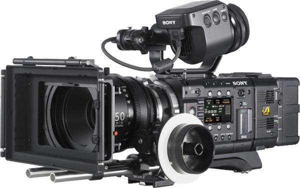 Sony PMW-F55 4K CineAlta camera
